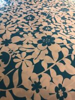 """Pottery Barn Teen """"Hibiscus Floral - Pool"""" full Duvet Cover"""
