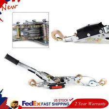 5 Ton Hand Puller Come Along Cable Hoist 3 Hooks 2 Gears Come Along Automotive