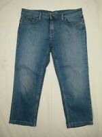 Women's Tommy Hilfiger Rome Stretch Regular Fit Cropped Blue Jeans W30