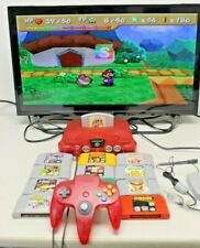 New listing Nintendo 64 Launch Edition Watermelon Red Console
