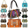 Montana West Satchel Handbag -Western Bling Collection -Concealed Carry