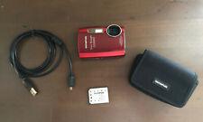 Olympus Stylus Tough 3000 12.0MP Waterproof Drop Proof Digital Camera - RED