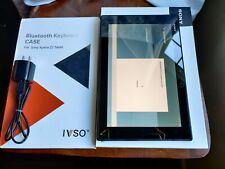 """EXTRAS Sony Xperia Z2 Tablet 32GB Wi-Fi 4G Verizon 10.1"""" Black 8.1MP SPG561 LTE"""