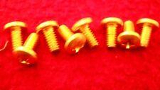 Holley Brass Throttle Blade Screws For Model 2300, 4150, 4160, 4165 & 4175 Carbs