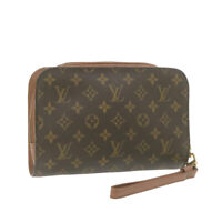 LOUIS VUITTON Monogram Orsay Clutch Bag M51790 LV Auth 21141