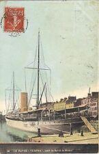 le havre l'atma yatch du baron de rotschild   76 seine maritime 1908