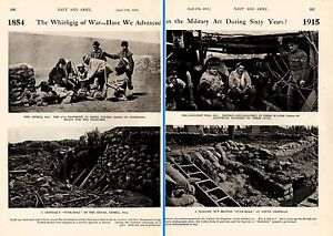 1915 WWI ~ CRIMEA 1854 47th REG GOAT SKIN ~ ARTILLERYMEN 1915 WINTER DRESS