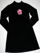 CACH CACH CACHCACH BOUTIQUE Black Velour Dress Girls 8