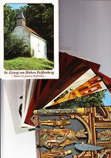 St. Georg am Hohen Peißenberg – Mappe mit 12 Postkarten - Rarität - gehr gut