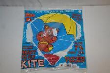 NEW Gayla Ready To Fly Kite Bat Style 7.5' Tail Super Twine Teddy Bear Parachute
