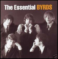 BYRDS (2 CD) THE ESSENTIAL ~ ROGER McGUINN~GRAM PARSONS~DAVID CROSBY 60's *NEW*