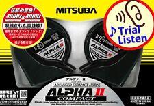Mitsuba Sankowa ALPHA II Compact HOS-04G Japanese Car Horn made in Japan