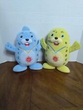 17th ASIAN GAMES 2014 INCHEON MASCOTS PLUSHES BARAME & VICHUON STUFFED TOYS