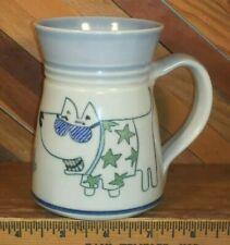 Jensen Turnage Pottery Dog Wearing Sun Glasses Coffee Mug Cup