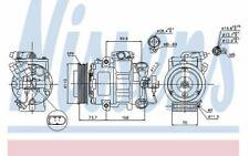 NISSENS Air Conditioning Compressor 12V 89026 - Discount Car Parts