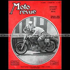 MOTO REVUE N°1094 AJS 350 ROD COLEMAN GP SPA MV AGUSTA 500 MONET GOYON 200 1952