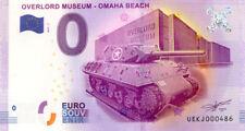 14 COLLEVILLE Overlord Muséum, Char et musée, 2017, Billet 0 € Souvenir