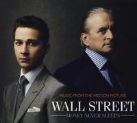 WALL STREET MONEY NEVER SLEEPS OST 12-trk CD NEW/SEALED David Byrne Brian Eno