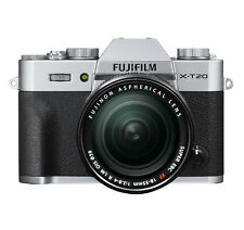 Fujifilm XT20 Silver with 18-55mm Lens 24.3MP Digital Mirrorless Camera