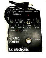 TC electronic Scf stereo chorus flanger 1970's Black