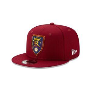Real Salt Lake Monarchs SC New Era 9FIFTY MLS Adjustable Snapback Hat Cap 950