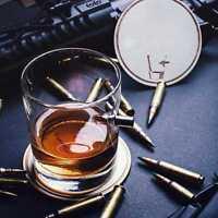 Bulet Kugel Design Whiskeygläser Gläser Whiskyglas Nosingglas Trinkglas Tum I6I1