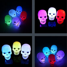 Holiday Flash Skull Grimace Halloween Decoration LED Lantern Night Light Lamp
