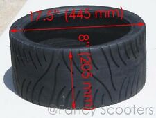 Chopper Rear Tubeless Tire 205/40-14 NHS 4 PLY (205-40-14)