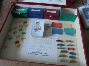 VINTAGE BOARD GAMES Buy British, Touring England, Motor Chase Across England
