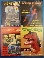 Vintage 1990's TOMART MAGAZINES Action Figure Digest & Disneyana (4 Issues)