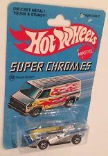 MOC 1977 Hot Wheels Super Chromes Steam Roller RARE 7 Star Variation