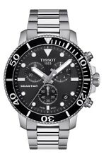 New Tissot Seastar 1000 Black Dial Swiss Quartz Men's Watch T1204171105100