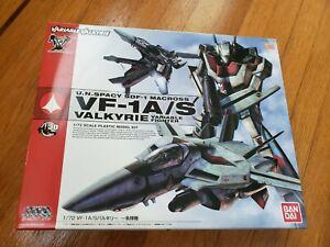 Bandai 1/72 VF-1A/S Valkyrie Hikaru Ichijo Macross Plastic Model USA Seller