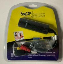 Easy CAP USB 2.0 Video Adapter W/Audio Capture & Edit New Sealed DC60