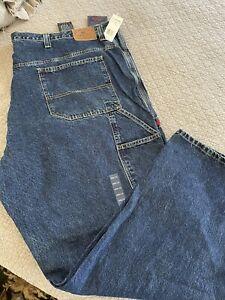 Big & Tall Mens Carpenter Jeans U. S. Polo Assoc 56x34 NWT Denim Dungarees