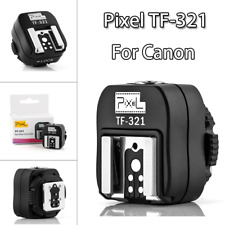 PIXEL TF-321 Hotshoe ETTL supports the PC socket trigger the studio light flash