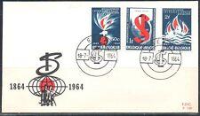 BELGIE FDC 1290-1292 Gent