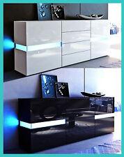 Moderne kast meubel hoogglans gelakt opbergmeubel woonkamer salon keuken design