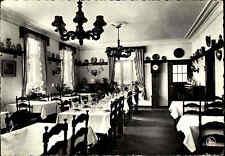 Belgien ~1955/60 Houffalize Hotel Du Chateau des Chéras Hotel Gasthof Innen-A.