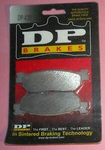 1 pair DP Brakes DP420 Standard Sintered Metal Brake Pads YAMAHA TW200 XT250 R6+