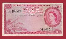 THE BRITISH CARIBBEAN TERRITORIES 1964 1 DOLLAR EASTERN  GROUP