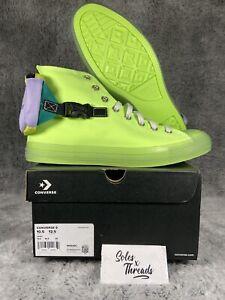 Converse Chuck Taylor All Star Buckle Up High 'Neon Jelly' Men SZ 10.5 169030C