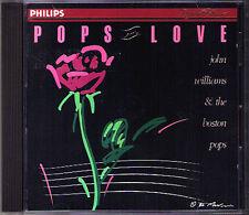John WILLIAMS & BOSTON POPS IN LOVE Faure Debussy Satie Albinoni Saint-Saens CD