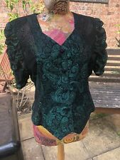 Ladies Blouse Size 16 Hand Made