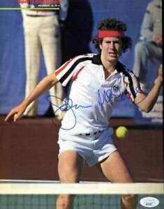 John McEnroe JSA Coa Hand Signed 8x10 Photo Autograph