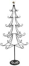 LARGE METAL CHRISTMAS XMAS TREE ON STAND FRAME DECORATIVE HOME DECOR 1.77M