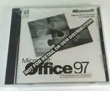 Microsoft Office 97 Professional Edition Special PC CD 1996 with key! BRAND NEW!
