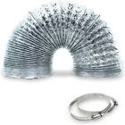 Appliance Pros AP-4395481 8ft Insulated Dryer Vent Hose, Outdoor Indoor Vent Kit photo
