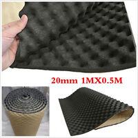 1X 0.5M Car Engine Noise Acoustic Insulation Deadening Mat Sound Proofing 20mm