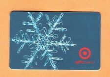 Collectible 2002 Target Gift Card - Snowflake on Blue Background - No Cash Value
